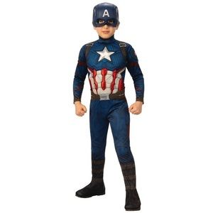 Avengers Captain America Deluxe Muscle costume M